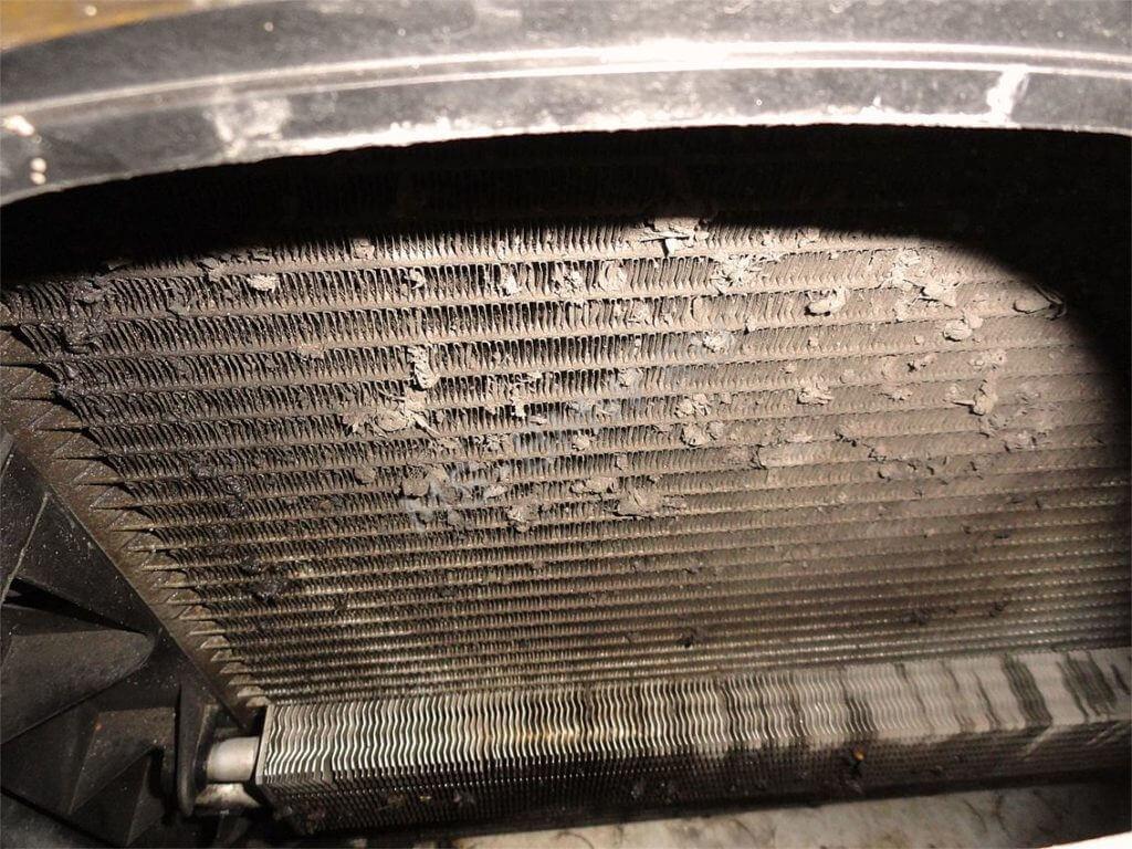 Промывка радиаторов с полным разбором